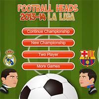 Игра футбол головами чемпионат испании бесплатно