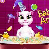 Игры Кошка Анжела - играть онлайн бесплатно