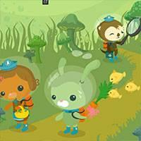 Игра Октонавты: раскраска медведь Барнаклс - играть онлайн ...