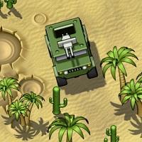 Игра Заезд в пустыне онлайн